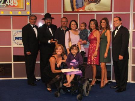 Gabbi and the MDA Telethon hosts from KCAL 9  KRTH